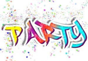 מסיבה באותיות