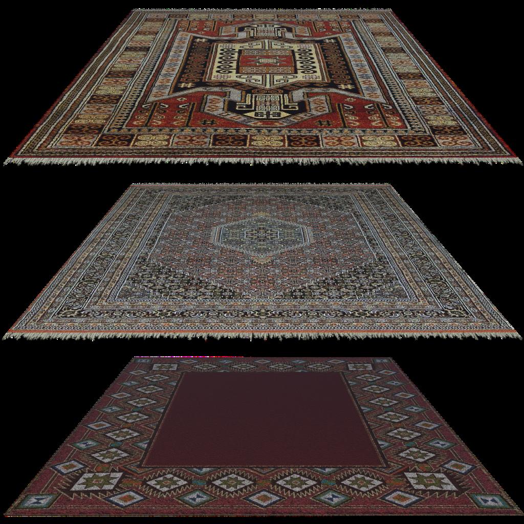 שלוש שטיחים